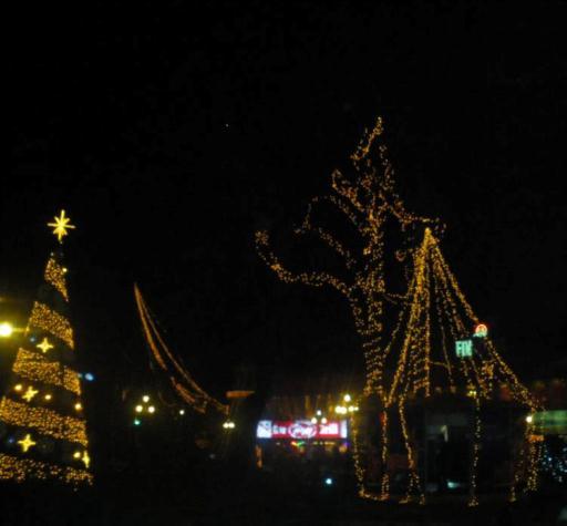 Бургас преди Нова Година
