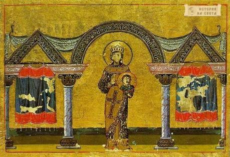 В Созопол, оловен печат на императрица Теодора